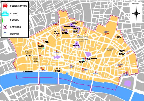 atlas city of london map. Black Bedroom Furniture Sets. Home Design Ideas