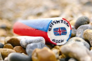 brighton-destination-rock-on-beach