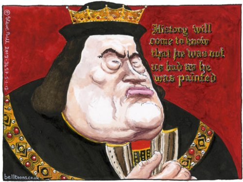 05.02.13: Steve Bell on Gordon Brown's legacy
