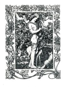 Orpheus with his lute made trees