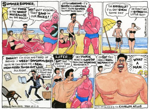 25.09.13: Steve Bell on Ed Miliband's speech in Brighton