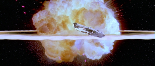 Death Star explodes