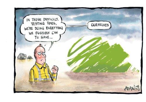 Adams cartoon, Daily Telegraph