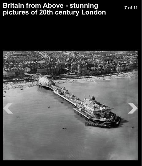 Eastbourne pier 1931