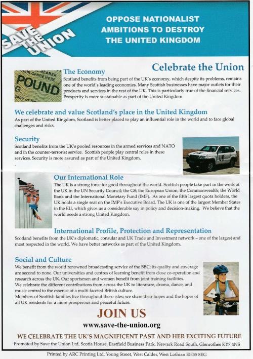 Orange March leaflet 2