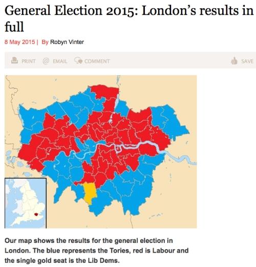 Labour vote 2015