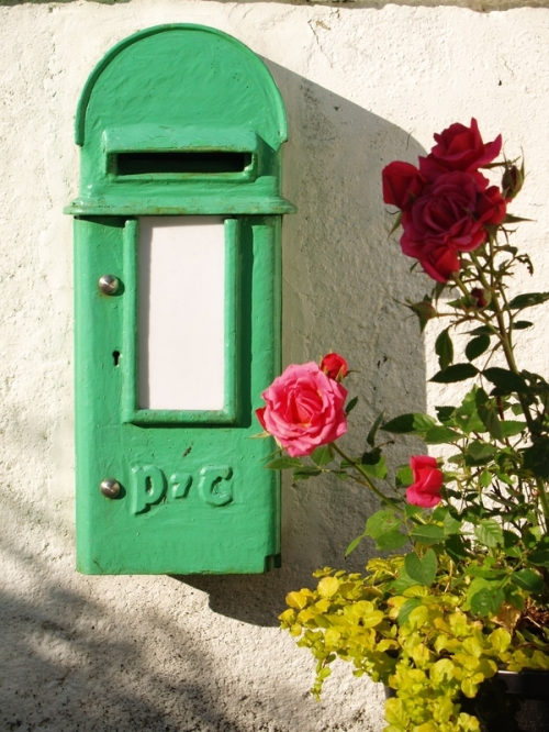 old-irish-post-box